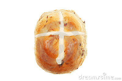 Hot Cross Bun Royalty Free Stock Image - Image: 13052406