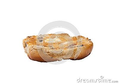 Hot cross bun and butter