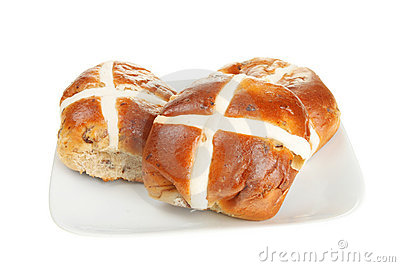 Richard Bertinet's Hot Cross Buns Recipe — Dishmaps