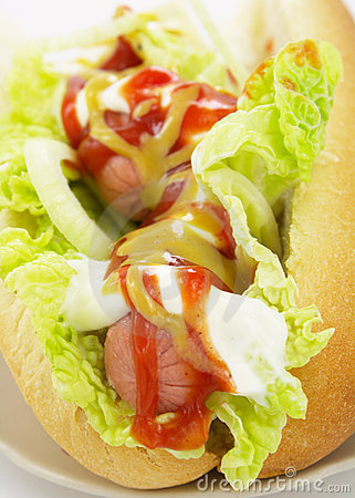 Free Hot Dog Royalty Free Stock Images - 9918719