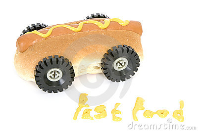 Hot Dog - Fast Food