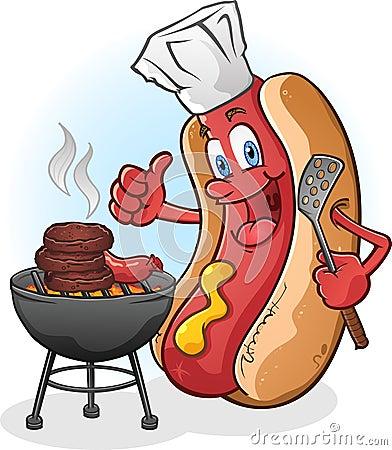 Hot Dog Grilling