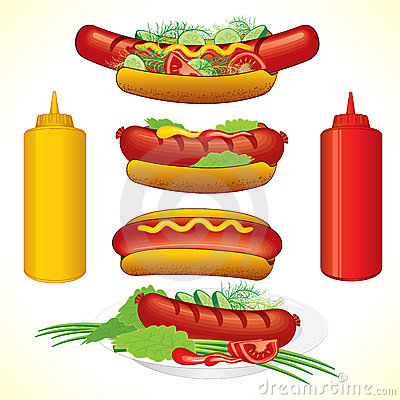 Hot dog set