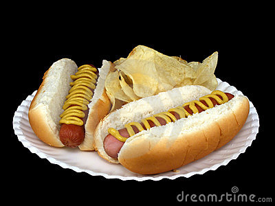 Hot Dogs With Mustard #1