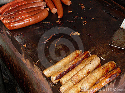Hot Dogs And Sausage