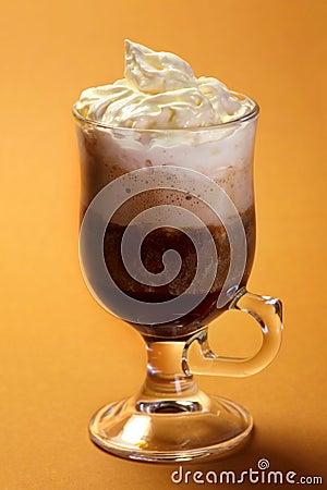 Hot drink dessert