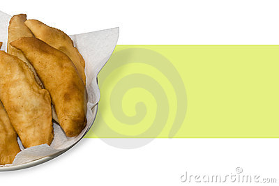 Hot fried Calzone
