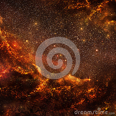 Hot galaxy (inside view)