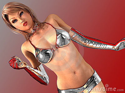 Hot Girls 3D - The Sexiest 3D Virtual Girls Ever!