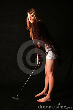 Free Hot Golf Stock Photography - 711472