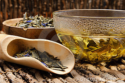 Hot Green Tea Stock Photos - Image: 19449733