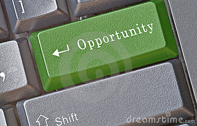 Hot key for opportunity