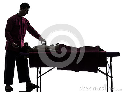Hot lastones massage therapy