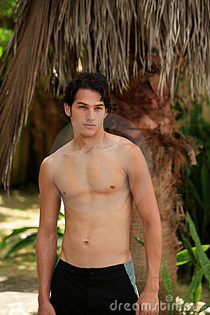 Hot latin male model