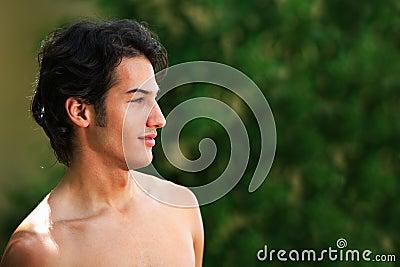Hot latin male model