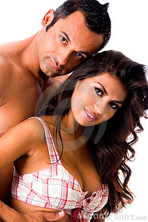 Hot Latino couple.