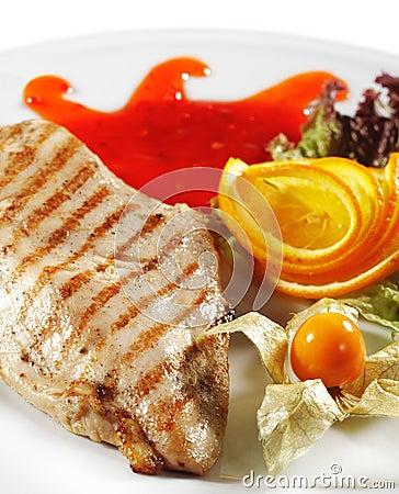 Hot Meat Dishes - Grilled Chicken Steak