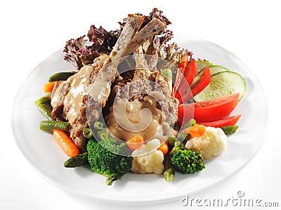 Hot Meat Dishes - Prime Rib Roast Pork