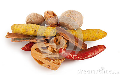 Hot mix raw spices
