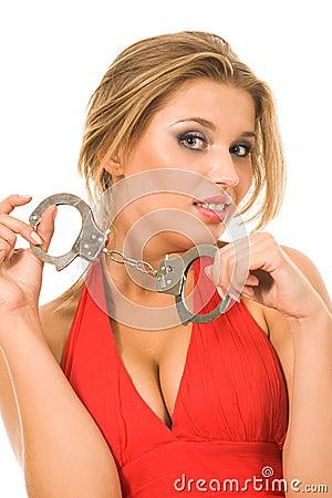 hot natural blonde handcuffs 9262507 | Juwelier Uhren Weikhard Graz