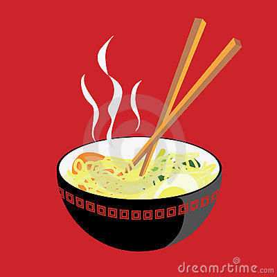 Free Hot Noodle Royalty Free Stock Photo - 18888695