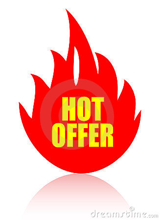 Hot offer icon