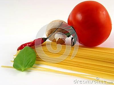 Hot pasta :-)