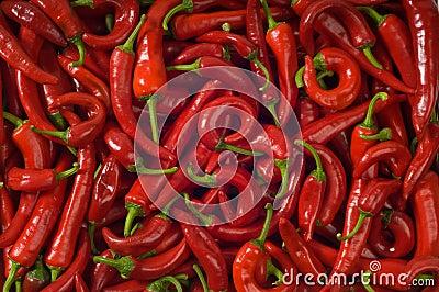 Hot pepper. Background.