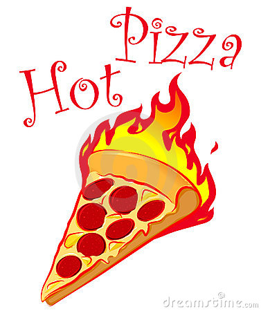 Hot Pizza Logo Design