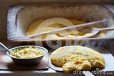 Hot polenta