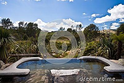 Hot Pool - New Zealand