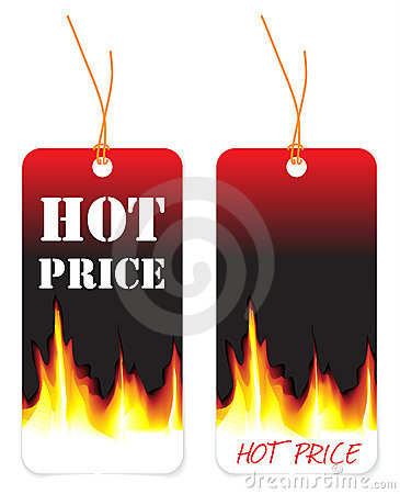 Hot price tags