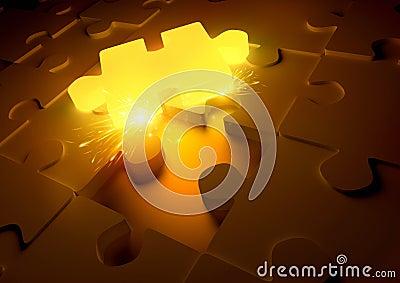 Hot Puzzle Concept