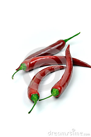Free Hot Red Chilis Royalty Free Stock Image - 48452576