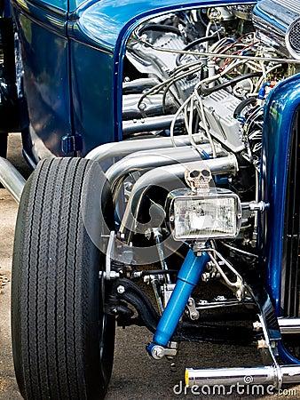 Free Hot Rod Car Stock Photo - 21619630
