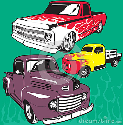 Hot Rod Trucks