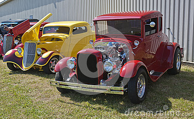 Hot rods Editorial Image