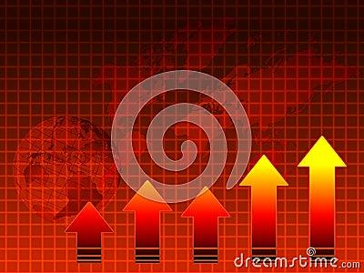 Hot sales: graph, map, globe
