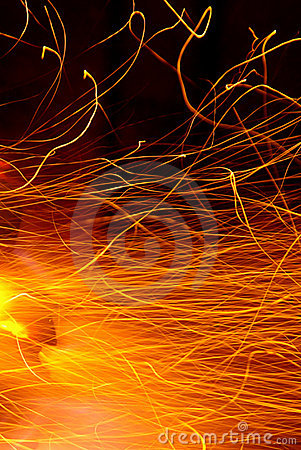 Free Hot Sparks Stock Photography - 3174992