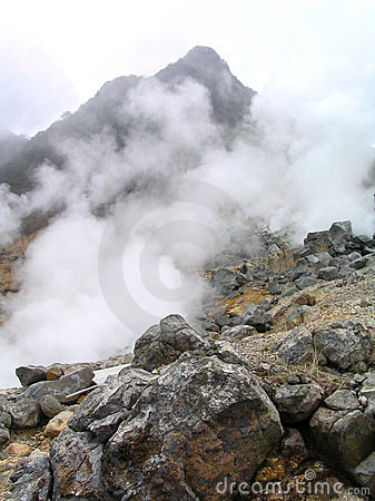 Hot Steam by Geothermal