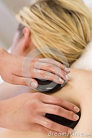 Free Hot Stone Massage Royalty Free Stock Image - 5978546