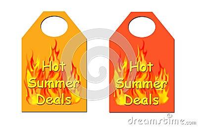 Hot summer Deals Tag.