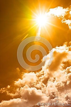 Free Hot Summer Sky Stock Photos - 15655313