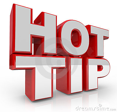 Free Hot Tip 3d Words Advice For Good Ideas Stock Photo - 22825340