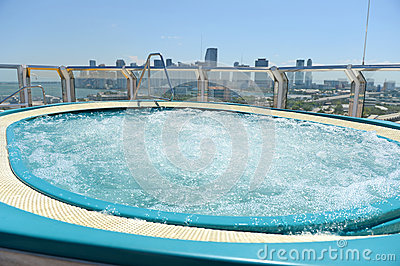 Hot Tub on Cruise Ship