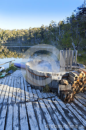 Hot Tub Spa Nature Lake