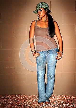 Free Hot Urban Female Royalty Free Stock Image - 2894656