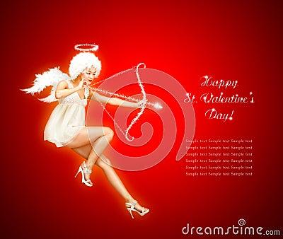Hot Valentine Angel