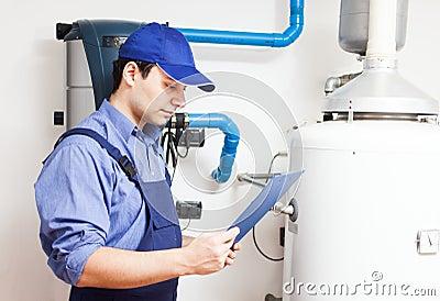 Hot-water heater service
