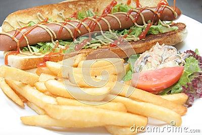 Hotdog food